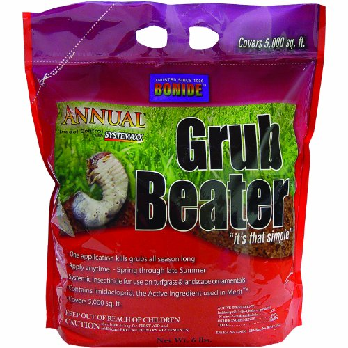 Bonide Products 603 Annual Grub Killer, 6-Pound