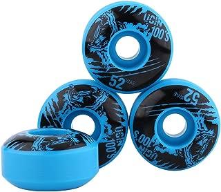 4 Unids/se Ruedas de Skate Al Aire Libre Clásico 52mm x