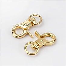 Sleutelhouder Decoratieve accessoires sleutelhanger onderdelen Sleutelhanger (Color : Gold, Size : 5pcs)