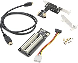 PCI-E Express X1 to Dual PCI Riser Extender Card With USB 3.0 Cable