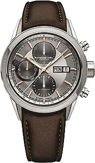 Raymond Weil - Reloj Automático Raymond Weil Freelancer, 42mm, Plata, 10 ATM, 7731-SC2-65655