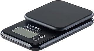 PEARL Feinwaage: Kompakte Digitalwaage mit Touchbedienung für Küche und Büro, bis 3 kg Küchenwaage