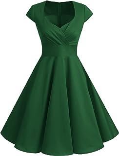 le prix reste stable 50% de réduction dernière mode Amazon.fr : Vert - Robes / Femme : Vêtements