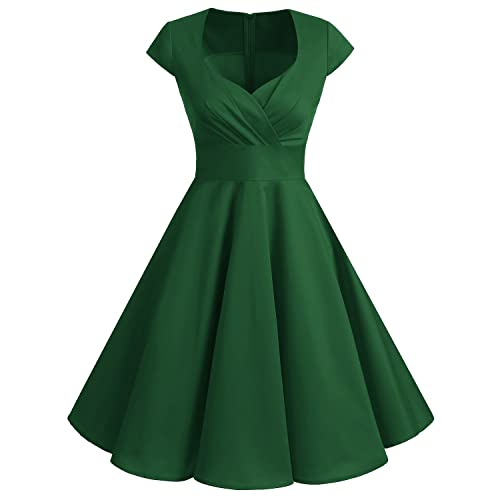 Plus Size Dresses 50s Style: Amazon.co.uk