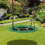 Immagine 1 homcom altalena da giardino con