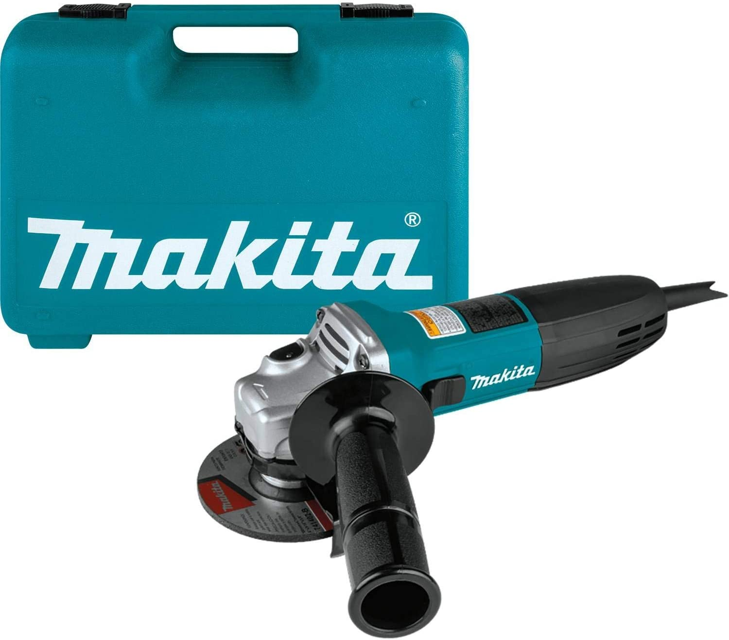Makita Ga4030K 4&Quot; Angle Grinder, With Tool Case