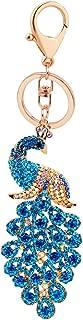 Amino ✮ Sweetpea the Peacock Keychain (XLarge) (Teal)