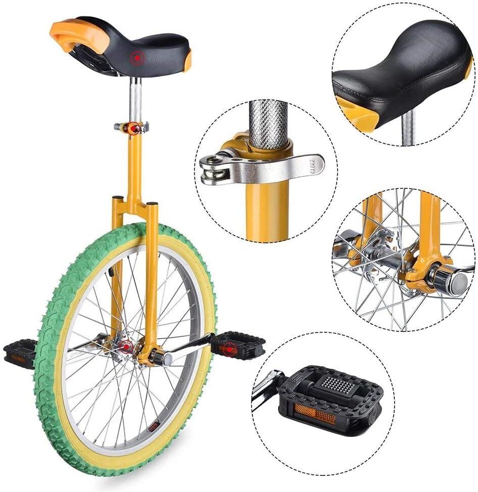 毎日激安特売で 営業中です Yanika Unicycle 20 Inch 超特価SALE開催 - Leakproof Cycling Tire Butyl Wheel Exe