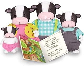 Li'l Woodzeez Moosicalmoo Cow Family 5 Piece Set