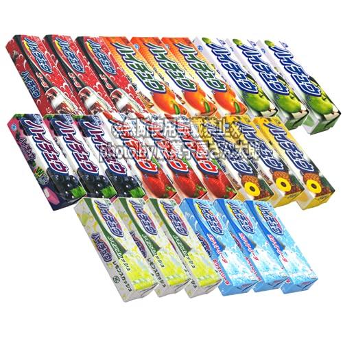 ハイチュウ 8種類×3個の24個詰め合わせセット (グレープ&ストロベリー&グリーンアップル&ホワイトソーダ&コーラ&レモンスカッシュ)+期間限定味