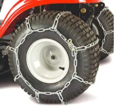 craftsman lawn tractor tire chains
