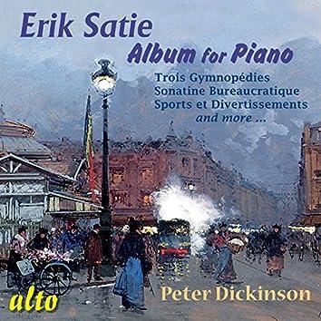 Erik Satie: Album for Piano