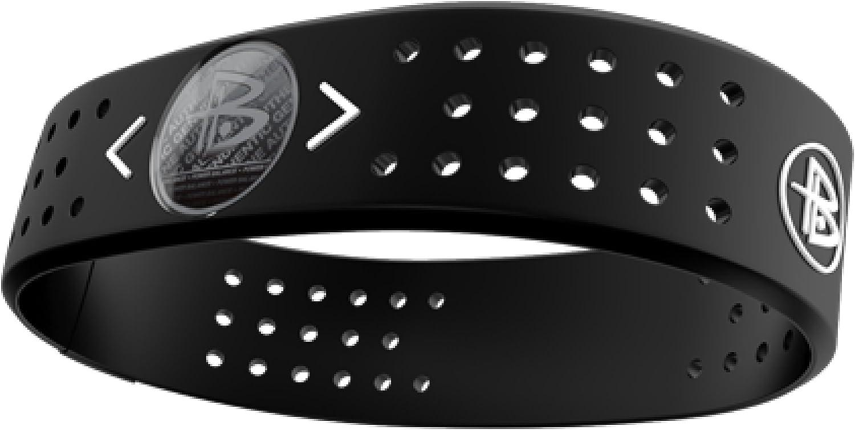 Amazon.com : Power Balance Evolution Wristband, Black, Medium ...