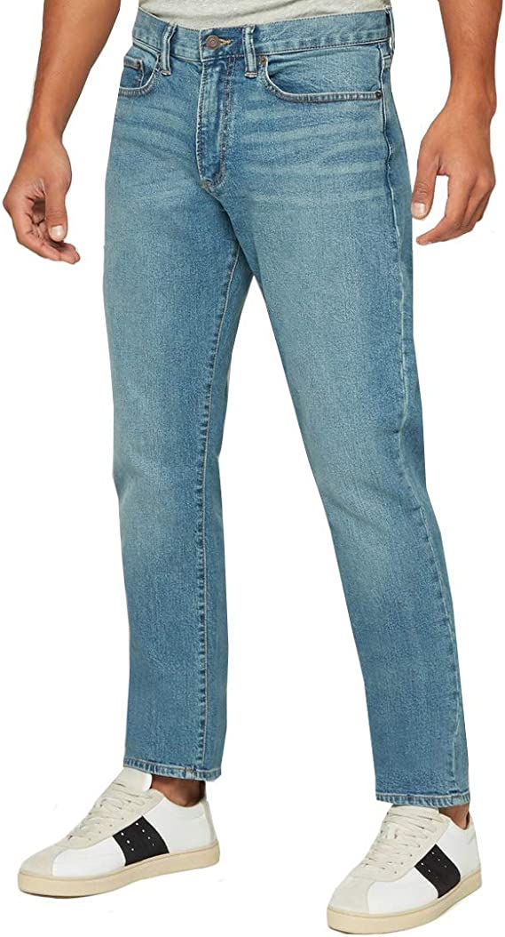Gap Jeans Para Hombre Pantalon De Mezclilla Con Corte Slim Modelo 645166 Amazon Com Mx Ropa Zapatos Y Accesorios