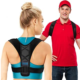 Posture Corrector Spinal Support - Physical Therapy Posture Brace for Men or Women - Back, Shoulder, and Neck Pain Relief ...