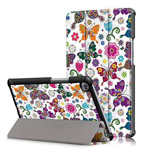 KATUMO® Funda para Huawei MediaPad M5 8.4,Smart Case Cover con Stand Función para Huawei MediaPad M5 8.4 Pulgadas,CY Mariposa