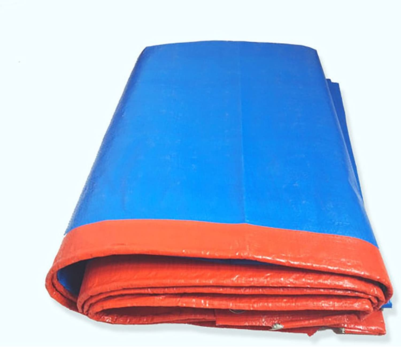 Tarps Thickened Rainproof Cloth Awning Cloth Waterproof Tarpaulin Car Wagon Tarpaulin Tarpaulin Sunscreen rain Tarpaulin (Size   8m10m)