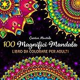 100 Magnifici Mandala - Libro da colorare per adulti: 100 bellissimi mandala da colorare per rilassarsi. Libri da colorare per adulti antistress