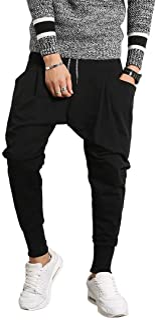 YIMANIE ジョガーパンツ メンズ スウェットパンツ ストレッチ トレーニング サルエルパンツ 無地 スリム カジュアル スキニー ヒップホップ ダンス フィットネス ユニセックス XS-3XL