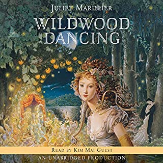 Wildwood Dancing                   By:                                                                                                                                 Juliet Marillier                               Narrated by:                                                                                                                                 Kim Mai Guest                      Length: 12 hrs and 53 mins     317 ratings     Overall 4.3