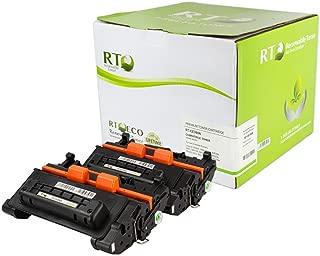 Renewable Toner Compatible Cartridge Replacement HP 90A CE390A for LaserJet Enterprise M601 M602 M603 M4555 (Black, 2-Pack)