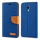 Meizu M5 Note Case, Oxford Leather Wallet Case with Soft
