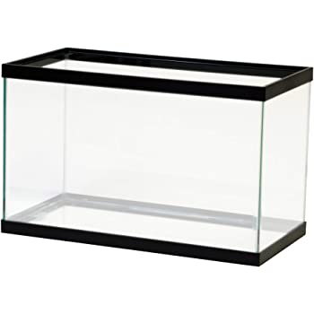 All Glass Aquariums, Black, 10 Gallon