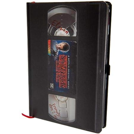 Stranger Things (VHS) Carnet de note A5 Premium Multi Couleur
