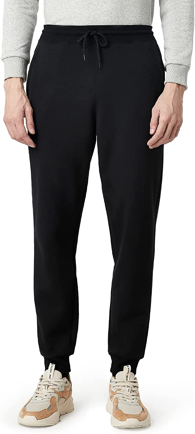 LAPASA Max 63% OFF Men's Heavy Sweatpants Fleece Pockets with Today's only Lined Joggers