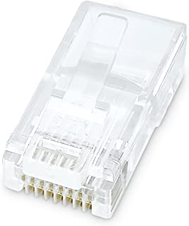 Belkin RJ45 Plug with Gold-Plated Contacts for Flat Cable (10 Pack)