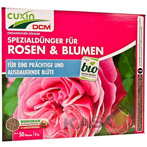 Cuxin Spezialdünger für Rosen und Blumen 3 kg