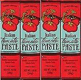 Trader Joe's Tomato Paste Tube (4.6oz/130g) [Pack of 4]