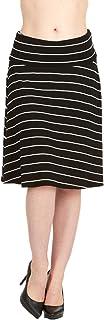 تنانير متوسطة الطول للنساء حتى الركبة مطوية فوق التنانير للنساء طول متوسط