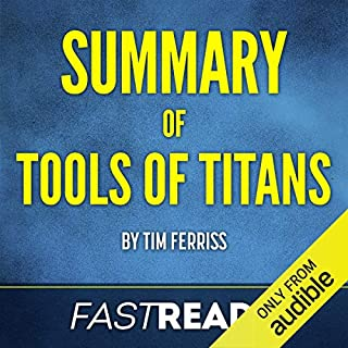 Summary of Tools of Titans by Tim Ferriss cover art