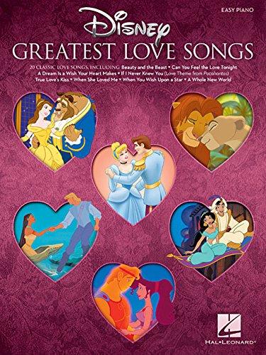 Disney's Greatest Love Songs (Easy Piano Book): Songbook für Klavier