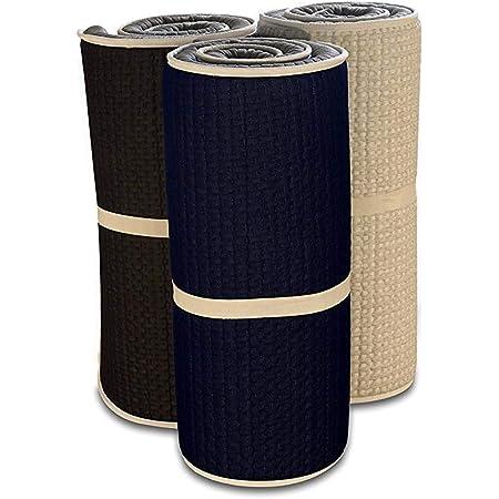 EvergreenWeb - Twist Bed Easy Matelas en Mousse Enroulable Support Ergonomique - Pliant Matelas Portable Épaissir Coussin Tatami Topper Matelas pour Accueil Camping Lit (Twist Bed Easy, 80x195 cm)