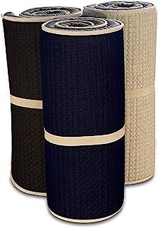 Evergreenweb - Colchóneta – Esterilla ergonómico de espuma - Soporte ergonómico - sin sustancias nocivas y aislante - Ideal como colchón de piso - Ideal para ejercicios de piso, acampada, yoga, estiramiento, ABS, pilates (90X195)