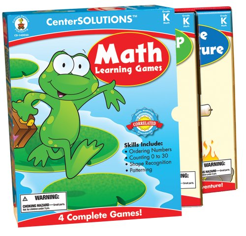 Carson Dellosa- Jeu de société d'apprentissage mathématiques 127 pièces, CD-140050