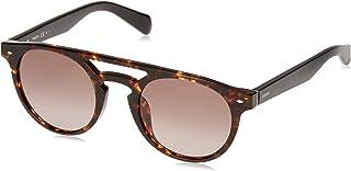 نظارات شمسية للرجال من فوسيل، لون بني