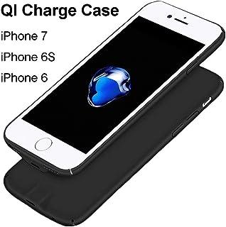 bcd1e46d99f Hoidokly Receptor iPhone 7/6 /6s Funda Receptor Cargador Inalámbrico para  Puede Ser la