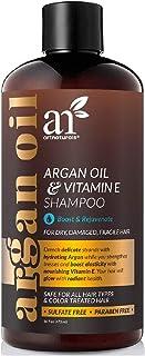 ArtNaturals Argan Hair Growth Shampoo - (16 Fl Oz / 473ml) - Sulfate Free - Treatment for Hair Loss, Thinning & Regrowth -...
