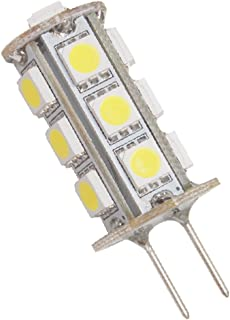 Dream Lighting Low Power Tower Type 12V DC Super Bright G4 LED Replacement Bulb Cool White Caravan/RV/Cabinet/Boat/Truck/V...
