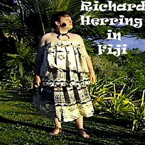 Richard Herring in Fiji audiobook cover art