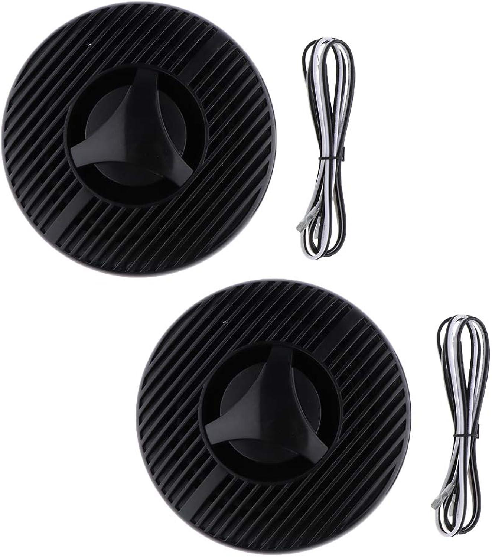 Perfk 1 Paar Lautsprecher Marine Einbaulautsprecher Leistung (Max) 120W Leistung Stiefelport Hardware B07HJ7KL1G  Modebewegung