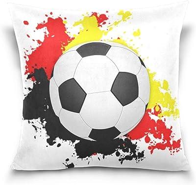 Amazon.com: Varina - Funda de cojín para fútbol, juego de ...