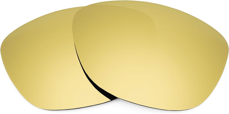 Revant Verres de Rechange pour Oakley Jupiter LX - Compatibles avec les Lunettes de Soleil Oakley Jupiter LX Or Mirrorshield - Polarisés Elite