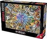 Anatolian Puzzle - 360 World, 3000 Piece Jigsaw Puzzle, #4916 (ANA4916)
