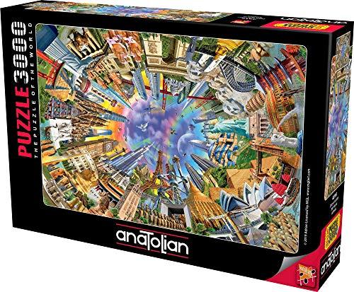 Anatolian Puzzle - 360 World, 3000 Piece Jigsaw Puzzle, #4916