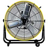 Best Industrial Fans - Simple Deluxe 24 Inch High Velocity Movement Heavy Review