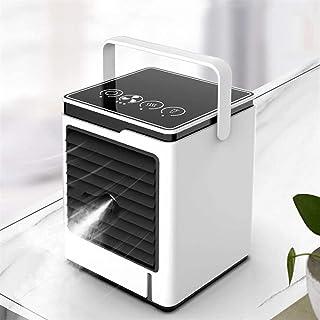Personligt utrymme Luftkylare Luftkonditionering, Mobil Luftkylningsfläkt Bärbar Mini Evaporativ Luftkylare Mistande Fläkt...
